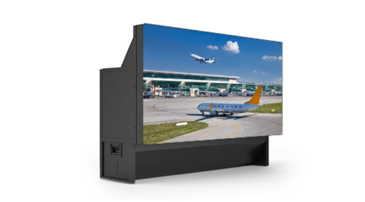 Laser Rear-Projection Video Walls
